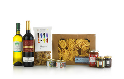 Italian food gift basket Macerata